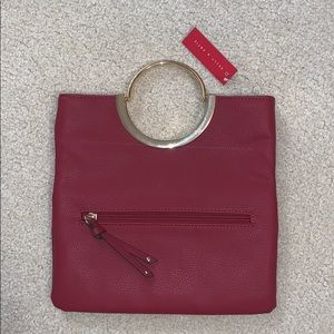 Kelly & Katie-Amanda Ring Clutch-Red